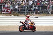 #93 Marc Marquez, Spanish: Repsol Honda Team during the MotoGP Gran Premio Red Bull de Espana at Circuito de velocidad de Jerez, Jerez De La Frontera, Spain on 4 May 2019.