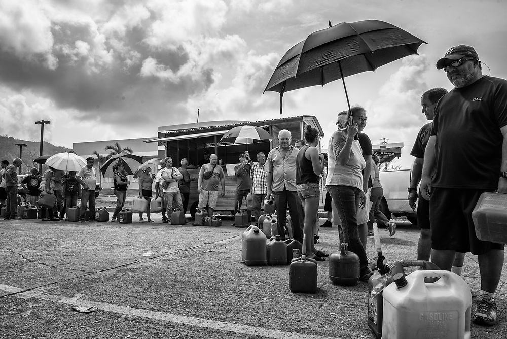 Doctors and staff with International Medical Corps work to asses damages and help those suffering from Hurricane Maria Sept. 27, 2017 in San Juan, Puerto Rico.     Photo Ken Cedeno