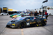 November 11-13, 2020. Lamborghini Super Trofeo, Sebring: 69 William Hubbell, Eric Curran, Wayne Taylor Racing, Lamborghini Greenwich, Lamborghini, Huracan Super Trofeo EVO