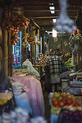 Early morning in Bolhão Market (Mercado do Bolhão), Porto, Portugal Ⓒ Davis Ulands   davisulands.com