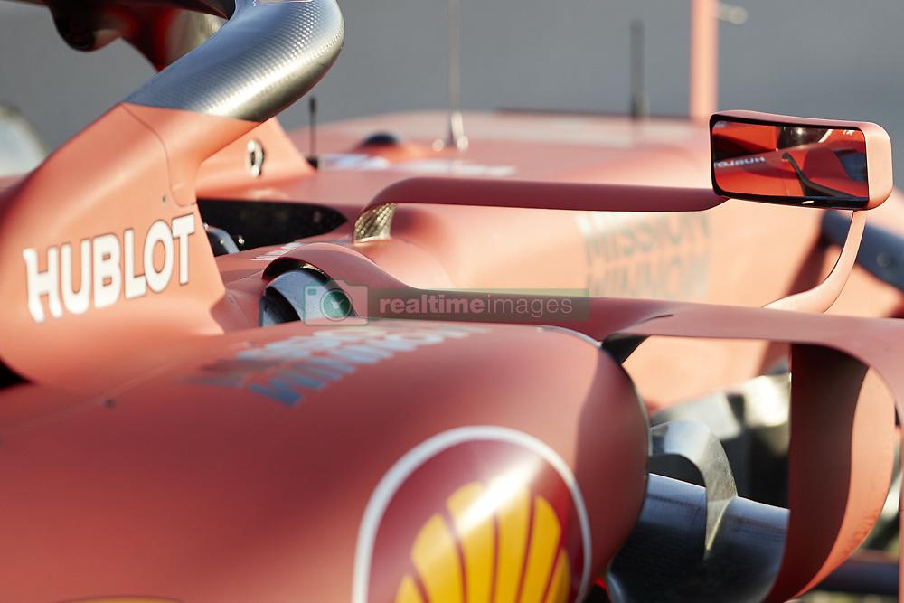 February 18, 2019 - Spain - Sebastian Vettel (Scuderia Ferrari Mission Winnow) seen in action during the winter test days at the Circuit de Catalunya in Montmelo  (Credit Image: © Fernando Pidal/SOPA Images via ZUMA Wire)