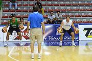 Sassari 20 Agosto 2012 - Qualificazioni Eurobasket 2013 - Allenamento<br /> Nella Foto : DANILE HACKETT DANIELE CAVALIERO<br /> Foto Ciamillo/Castoria