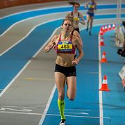 NLD/Apeldoorn/20180217 - NK Indoor Athletiek 2018, 800 meter dames, Suzanne Voorrips(465)