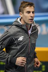 07.03.2014, Ergo Arena, Sopot, POL, IAAF, Leichtathletik Indoor WM, Sopot 2014, Tag 1, im Bild Marcin Lewandowski (POL) // Marcin Lewandowski (POL) during day one of IAAF World Indoor Championships Sopot 2014 at the Ergo Arena in Sopot, Poland on 2014/03/07. EXPA Pictures © 2014, PhotoCredit: EXPA/ Newspix/ Tomasz Jastrzebowski<br /> <br /> *****ATTENTION - for AUT, SLO, CRO, SRB, BIH, MAZ, TUR, SUI, SWE only*****