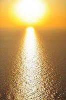 Sunrise, Danube delta rewilding area, Romania