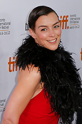 Actress OLIVIA WILLIAMS at the 'Hyde Park On Hudson' premiere during the 2012 Toronto International Film Festival at Roy Thomson Hall, September 10th. Photo by David Tabor/ i-Images.