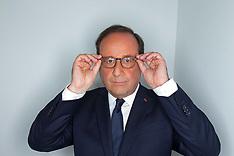 Francois Hollande appears on Dimanche En Politique TV show - 10 June 2018