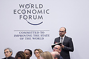 Richard Samans, Head of the Centre for the Global Agenda, Member of the Managing Board, World Economic Forum at the World Economic Forum on Africa 2017 in Durban, South Africa. Copyright by World Economic Forum / Greg Beadle