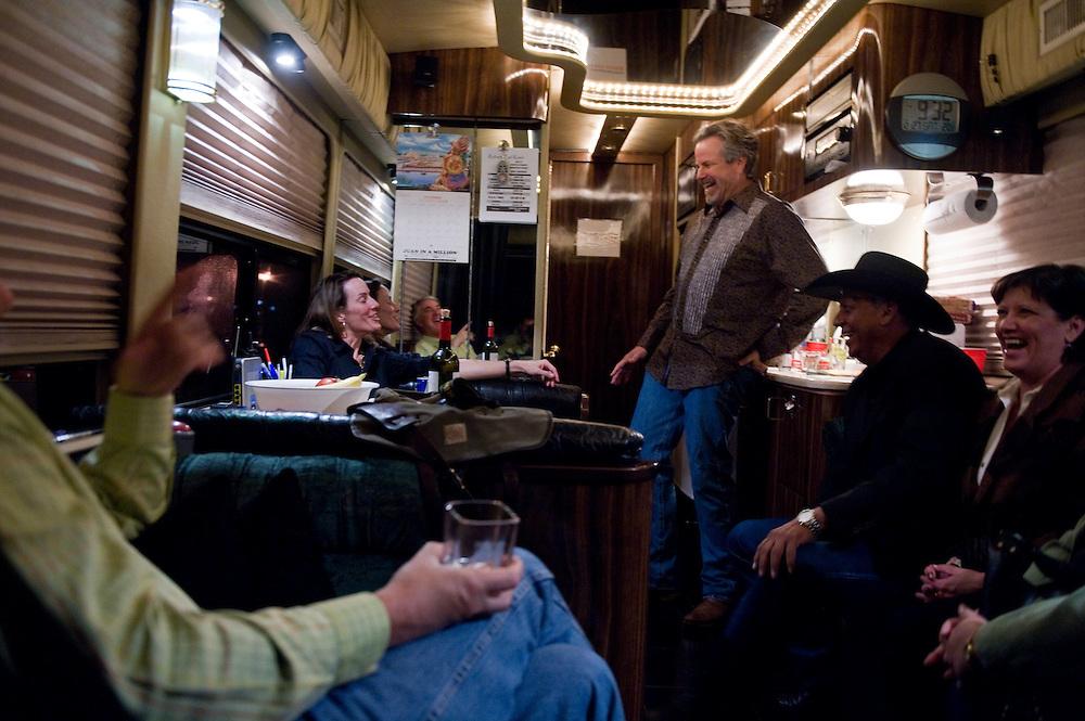 Robert Earl Keen. Robert Earl Keen and the Robert Earl Keen Band live in concert at Brewster Street in Corpus Christi, Texas on Saturday, December 27 2008. Photograph © 2008 Darren Carroll