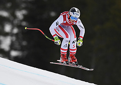 30.11.2017, Lake Louise, CAN, FIS Weltcup Ski Alpin, Lake Louise, Abfahrt, Damen, 3. Training, im Bild Stephanie Venier (AUT) // Stephanie Venier of Austria in action during the 3rd practice run of ladie's Downhill of FIS Ski Alpine World Cup at the Lake Louise, Canada on 2017/11/30. EXPA Pictures © 2017, PhotoCredit: EXPA/ SM<br /> <br /> *****ATTENTION - OUT of GER*****