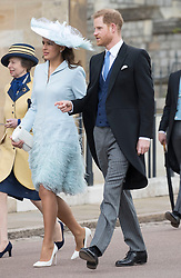 May 18, 2019 - Windsor, United Kingdom - Image licensed to i-Images Picture Agency. 18/05/2019. Windsor , United Kingdom.  Prince Harry, The Duke of Sussex and Sophie Winkleman arriving for the Lady Gabriella Windsor  at St.George's Chapel, Windsor, United Kingdom. (Credit Image: © Stephen Lock/i-Images via ZUMA Press)