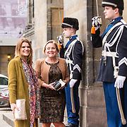 NLD/Amsterdam/20190115 - Koninklijke nieuwjaarsontvangst Nederlandse genodigden, Ank Bijleveld en Barbara Visser