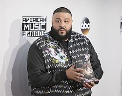November 20, 2016 - Los Angeles, California, U.S - DJ Khaled on the Red Carpet of the 2016 American Music  Awards held on Sunday, November 20, 2016 at the Microsoft  Theatre in Los Angeles, California. (Credit Image: © Prensa Internacional via ZUMA Wire)