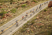 SHOT 5/7/16 8:29:33 AM - Moab is a city in Grand County, in eastern Utah, in the western United States. Moab attracts a large number of tourists every year, mostly visitors to the nearby Arches and Canyonlands National Parks. The town is a popular base for mountain bikers and motorized offload enthusiasts who ride the extensive network of trails in the area. Includes images of Scenic Byway 128, Fisher Towers and downtown Moab. (Photo by Marc Piscotty / © 2016)