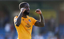 Abu Ogogo of Bristol Rovers celebrates at the final whistle - Mandatory by-line: Arron Gent/JMP - 21/09/2019 - FOOTBALL - Cherry Red Records Stadium - Kingston upon Thames, England - AFC Wimbledon v Bristol Rovers - Sky Bet League One