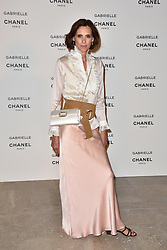 """Ines de la Fressange attending the party for the new Chanel perfume """"Gabrielle"""", at the Palais de Tokyo in Paris, France, on July 4, 2017. Photo by Alban Wyters/ABACAPRESS.COM"""