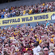ORLANDO, FL - JANUARY 01:  Fans are seen in the crowd during the Buffalo Wild Wings Citrus Bowl between the Minnesota Golden Gophers and the Missouri Tigers at the Florida Citrus Bowl on January 1, 2015 in Orlando, Florida. (Photo by Alex Menendez/Getty Images) *** Local Caption ***