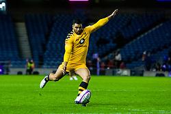 Lima Sopoaga of Wasps converts a penalty  - Mandatory by-line: Ewan Bootman/JMP - 06/12/2019 - RUGBY - Murrayfield - Edinburgh, England - Edinburgh Rugby v Wasps - European Rugby Challenge Cup
