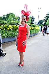 AMANDA HOLDEN at at the first day of the 2009 Royal Ascot racing festival on 16th June 2009.