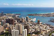 Downtown, Honolulu, Oahu, Hawaii, USA
