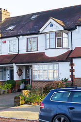 The Beckenham home of Colin Wing, a Chelsea FC supporter who is alleged to have shouted racist abuse at Manchester City footballer Raheem Sterling. London, December 11 2018.