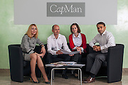 Moscow, Russia, 06/09/2012..CapMan staff in the company's Moscow headquarters.