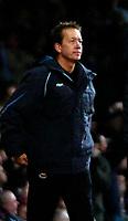 Photo: Ed Godden.<br /> West Ham United v Manchester United. The Barclays Premiership. 17/12/2006. West Ham Manager Alan Curbishley.