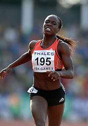 26-05-2007 ATLETIEK: THALES FBK GAMES: HENGELO<br /> Maralyn Okoro (GBR) wint de 800 meter<br /> ©2007-WWW.FOTOHOOGENDOORN.NL *** Local Caption *** CHAATSEN:WORLDCUP:HEERENVEEN:12JANUARI2002