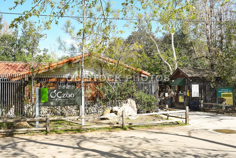 OC Zoo Entrance Irvine Regional Park