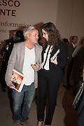 DEANNA LEONTIEVA, Francesco Clemente Private view,  Emblems of Transformation. Blain Southern. London. 28 April 2015