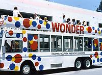 1987 Hollywood Fantasy Tours' tour bus