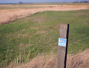 RSPB nature reserve Boyton Marshes Suffolk