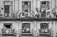 Balcony Laundry, Havana