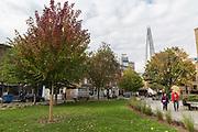 Bermondsey Street on 13th October 2015 in London, United Kingdom.