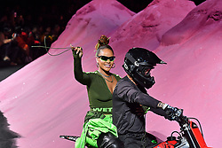Rihanna arrives on the runway during the Fenty X Puma Rihanna Fashion show at New York Fashion Week Spring Summer 2018 held in New York, NY on September 10, 2017. (Photo by Jonas Gustavsson/Sipa USA)