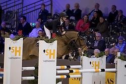 Bruynseels Niels, BEL, Ibbo van't Keldertje<br /> Indoor Brabant - Den Bosch 2017<br /> © Hippo Foto - Dirk Caremans<br /> 10/03/2017