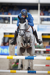 Ahlmann Christian (GER) - Casuality Z<br /> Final 7 years<br /> FEI World Breeding Jumping Championships for Young Horses - Lanaken 2014<br /> © Dirk Caremans