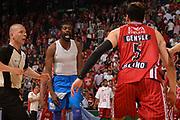 DESCRIZIONE :  Lega A 2014-15  EA7 Milano -Banco di Sardegna Sassari playoff Semifinale gara 7<br /> GIOCATORE : Lawal Shane<br /> CATEGORIA : Low Esultanza<br /> SQUADRA : Banco di Sardegna Sassari<br /> EVENTO : PlayOff Semifinale gara 7<br /> GARA : EA7 Milano - Banco di Sardegna Sassari PlayOff Semifinale Gara 7<br /> DATA : 10/06/2015 <br /> SPORT : Pallacanestro <br /> AUTORE : Agenzia Ciamillo-Castoria/Richard Morgano<br /> Galleria : Lega Basket A 2014-2015 Fotonotizia : Milano Lega A 2014-15  EA7 Milano - Banco di Sardegna Sassari playoff Semifinale  gara 7<br /> Predefinita :