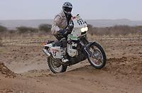 Motor<br /> Paris Dakar 2004<br /> Foto: Digitalsport<br /> Norway Only<br /> <br /> TIDJIKJA - NEMA 20040109<br /> PÅL ANDERS ULLEVÅLSETER / KTM 660 SCANDINAVIA