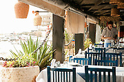 The reknowned Pepe's Fishing Club restaurant, overlooking the harbour at Byblos, Lebanon