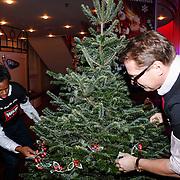 NLD/Hilversum/20121207 - Skyradio Christmas Tree, Albert Verlinde en Rogier Komproe