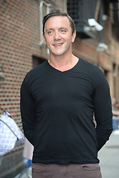 August 16, 2017 - New York, NY, USA - August 16, 2017 New York City..Peter Serafinowicz arriving to tape an appearance on 'The Late Show with Stephen Colbert' on August 16, 2017 in New York City. (Credit Image: © Kristin Callahan/Ace Pictures via ZUMA Press)