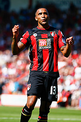 Callum Wilson of AFC Bournemouth shot is saved - Mandatory by-line: Jason Brown/JMP - Mobile 07966 386802 08/08/2015 - FOOTBALL - Bournemouth, Vitality Stadium - AFC Bournemouth v Aston Villa - Barclays Premier League - Season opener