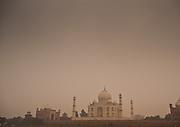Rear view of the Taj Mahal