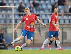 Nicklas Bjerre Schmidt (Hvidovre IF) under kampen i 1. Division mellem Hvidovre IF og FC Helsingør den 15. september 2020 på Pro Ventilation Arena, Hvidovre Stadion (Foto: Claus Birch).