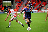 Luton Town forward James Collins (19) during the EFL Sky Bet League 1 match between Doncaster Rovers and Luton Town at the Keepmoat Stadium, Doncaster, England on 8 September 2018.