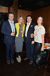 Left to right, EDWARD SEYFRIED, SARAH BRYNE, EDWARD COLLINS and CATHERINE REED at a party in aid of the Youth at Risk charity held at Raffles, 287 King's Road, London on 27th November 2013.