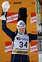 Skiskyting , 23. mars 2006 ,  Verdenscup Holmenkollen,<br /> Svetlana Ishmouratova , Russland first price individuell score this season<br /> Biathlon , World cup