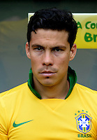 Fifa Brazil 2013 Confederation Cup / Group A Match /<br /> Brazil vs Japan 3-0  ( National / Mane Garrincha Stadium - Brasilia , Brazil )<br /> ANDERSON HERNANES  of Brazil , during the match between Brazil and Japan