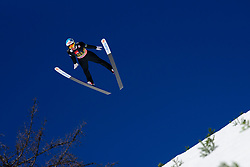 March 23, 2019 - Planica, Slovenia - Andreas Alamommo of Finland in action during the team competition at Planica FIS Ski Jumping World Cup finals  on March 23, 2019 in Planica, Slovenia. (Credit Image: © Rok Rakun/Pacific Press via ZUMA Wire)
